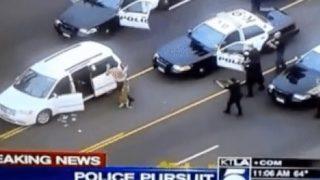 【海外の反応】LA発のニュース映像で知る「勇敢な警察犬が人命を救う理由」
