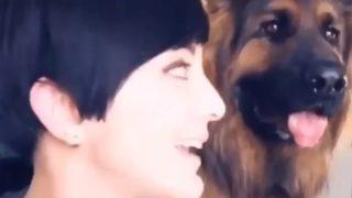 【海外の反応】人も犬も美しすぎる!超エキスパートレベルの自撮りビデオ