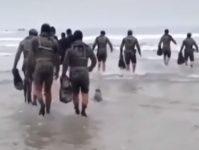【海外の反応】アメリカ海軍特殊部隊ネイビーシールズ、訓練に飛び入り参加した「本物」になごむ…